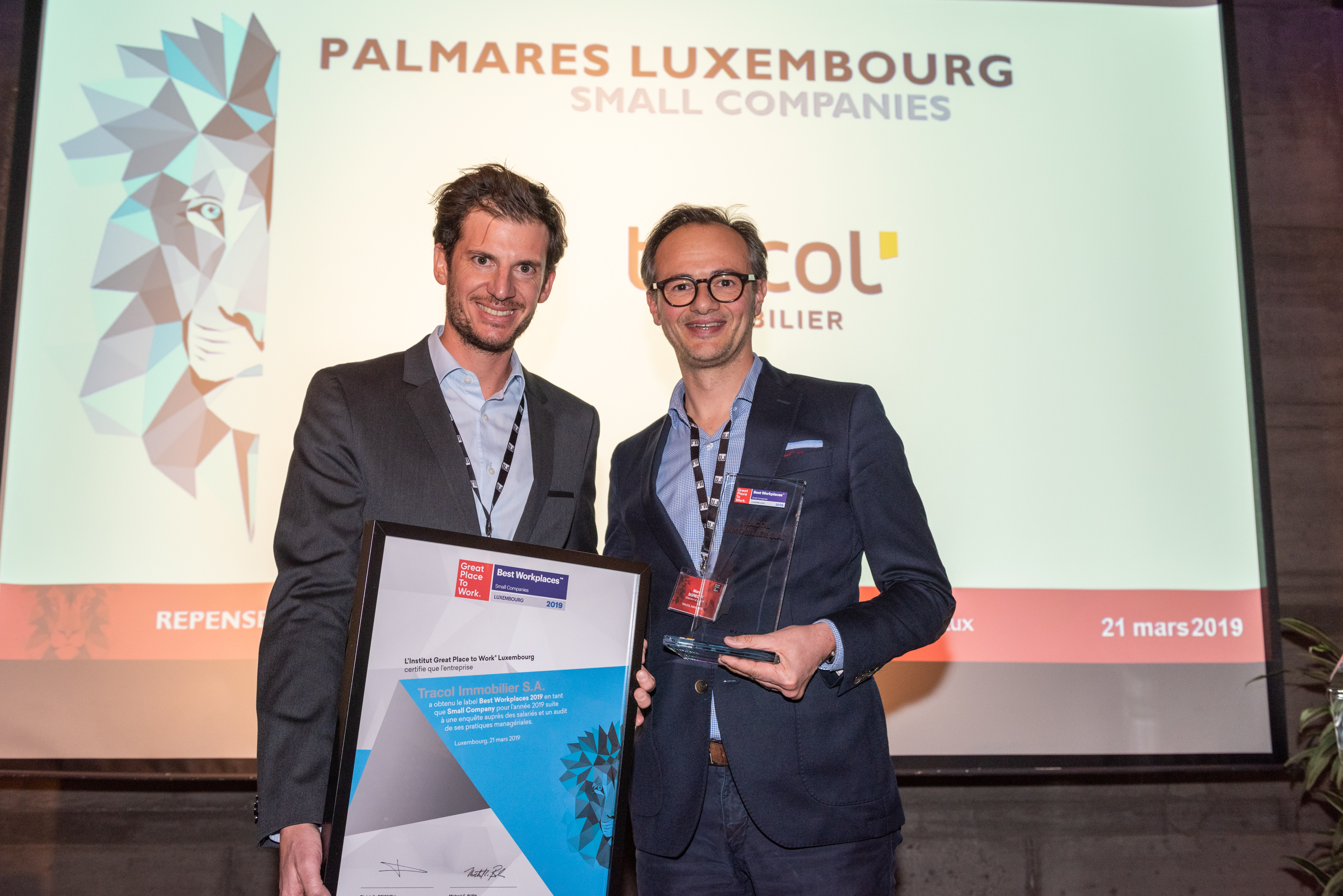 Interview Tracol : #2 Best Workplace Luxembourg (Small Companies)
